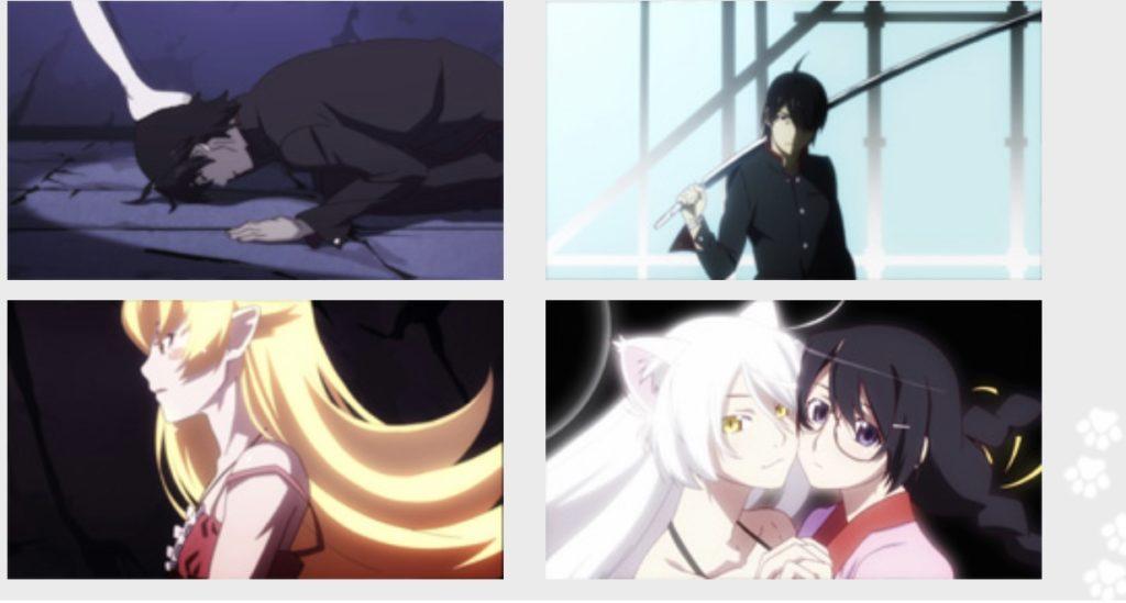 猫物語(黒)のアニメ動画を全話無料で見れるぞ!羽川翼ファン必見。